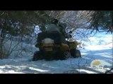 De la neige et encore de la neige dans les Pyrénées