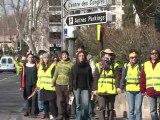 Avignon: une chaîne humaine pour sortir du nucléaire