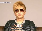 [Dutch Subs] GACKT - Message for 11th March at J-Melo (2012.03.12)