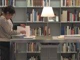 Visite de la bibliothèque de la Cité de l'architecture et du patrimoine