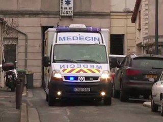 La métier d'ambulancier