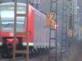 Bonn Beuel Süd R4C Vossloh G2000, R4C BR185, DBAG BR185, BR140, BR152, 3x BR143, 3x BR425