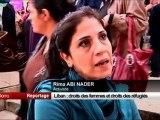 Liban  droits des femmes et droits des réfugiés