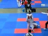 Icaro Sport. Taekwondo, Ginevra Graf, campionessa juniores cinture nere