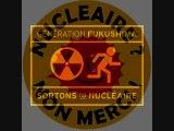 chaine humaine contre le nucléaire Lyon - Avignon