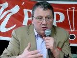 """13-Colloque M'PEP """"Pour une République du droit opposable à l'emploi"""" - Réponses de Jacques Nikonoff - le 10 mars à Lyon."""