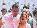 Television Stars Having Fun At A Holi Bash - TV News
