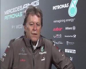 Norbert Haug, Mercedes AMG W03