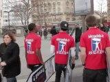AArrow Ads Sign Spinning - Journée portes ouvertes dans les écoles de la chambre de commerce de Paris 24 mars 2012 à Salon de l'étudiant! Porte de Versailles