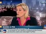 Marine Le Pen dévoile SOS racisme