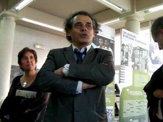 """""""Ces Bleus venus d'Europe et d'Amérique latine"""", une exposition à voir dans le hall de la mairie de Romans"""