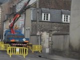 Beauvais : le poteau électrique menace de s'effondrer