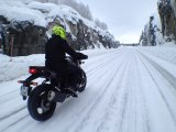 CRAZY ROAD TRIP MOTO EN LAPONIE 1/2 ( VIDEO OFFICIELLE MOTO JOURNAL )