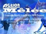 "Tableau Blanc Interactif (TBI) à l""école Jordi Barre de Perpignan"