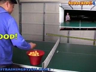 Table Tennis Training Using The Falkenberg Drill