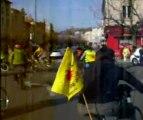 Velorution pour la chaine humaine contre le nucleaire 2012