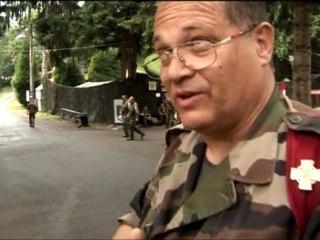 camp toile 53 Pèlerinage militaire International de Lourdes