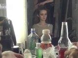 Cynthia Rowley Backstage with MUFE Fall '12 NYFW | FashionTV
