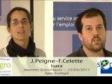 JS 2011 : Joséphine Peigne et Florian Celete - agriculture de conservation et agriculture biologique