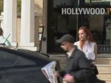Rod Stewart Looking Cool in Beverly Hills