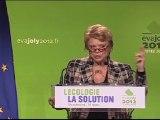 Discours d'Eva Joly en meeting à Strasbourg