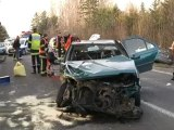 Quarouble : un accident de la circulation fait 2 blessés graves dont une fillette de 4 ans