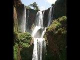MAROC- Les cascades  D 'OUZOUD