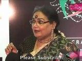 Various Playback Singer Usha Uthup Says To Media @ Ficci Frame Awards 2012
