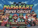 Direct-Live : Mario Kart Super Circuit ( GBA )