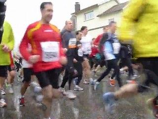 Course La Wantzenau - 18/03/2012 - Départ du semi marathon