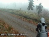 chasse chevreuil en battue caméra embarquée GoPro HD