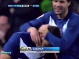 Santi Cazorla Wonderful Free Kick against Real Madrid