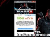 How To Download Mass Effect 3 Squad Appearance Pack DLC Mass Effect 3 Squad Appearance Pack DLC Codes - Free - Xbox 360 - PS3