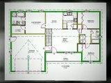DWG House Plans #h65 1140 Sq Ft 3bdrm 2 bath