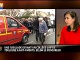 Fusillade à Toulouse : deux armes utilisées, dont une de 11,43