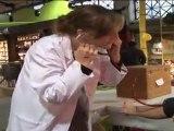 TELETHON 2011 : les étudiants en médecine de la Fac de Nancy prennent la tension pour le Téléthon (Meurthe et Moselle-54)