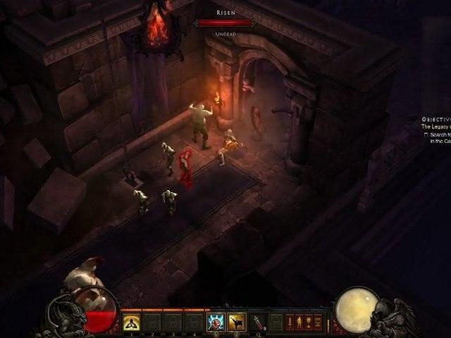 Diablo 3 (Beta) Gameplay Moine