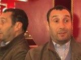 Zinedine Soualem, comédien, soutient François Hollande