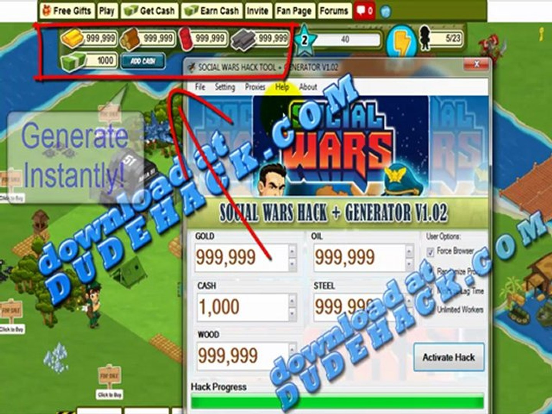 Social Wars Cheat 2012 (Working Social Wars Cash Cheat 2012) Social Wars Cheats V.2.3