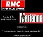 """J.F. Kahn : """"L'immigration ? Tout le monde ment !"""" 2010"""