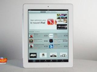 Nouvel iPad - Prise en main