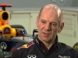 Red Bull Racing Car Launch Intervew Adrian Newey