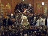 Égypte : Des milliers de coptes aux obsèques de...