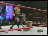 Chris Benoit, Chris Jericho and Shawn Michaels vs Christian, Edge and Tyson Tomko - RAW 1-24-05