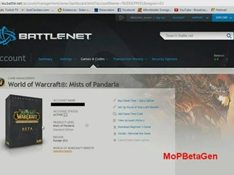 World of Warcraft:Mist of Pandaria Closed Keygen Crack n 2016 n 2017 FREE Download n Télécharger