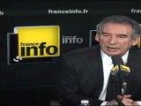 François Bayrou invité de France Info