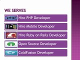 Hire Web Developers India for Web Application Development