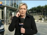 """""""Le risque fondamentaliste a été sous-estimé"""", selon Marine Le Pen"""