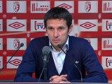 Conférence de presse LOSC Lille - Olympique Lyonnais : Rudi GARCIA (LOSC) - Rémi GARDE (OL) - saison 2012/2013