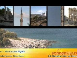 Die Ägäis ist ... türkisfarbene Buchten